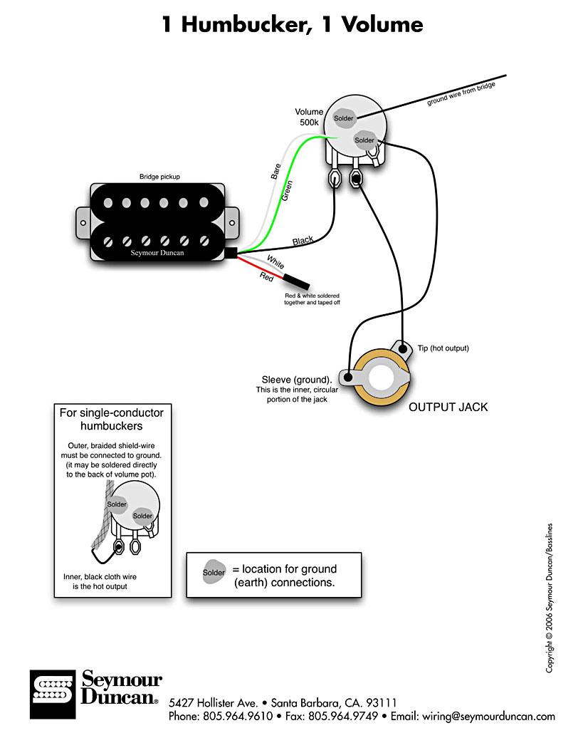 双线圈拾音器常用电路图 之二